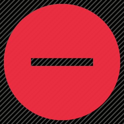 Close, delete, exit, minus, remove icon - Download on Iconfinder
