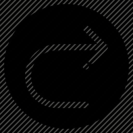 arrow, next, redo, right icon