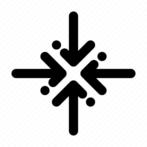 arrow, collapse, expand, navigation icon