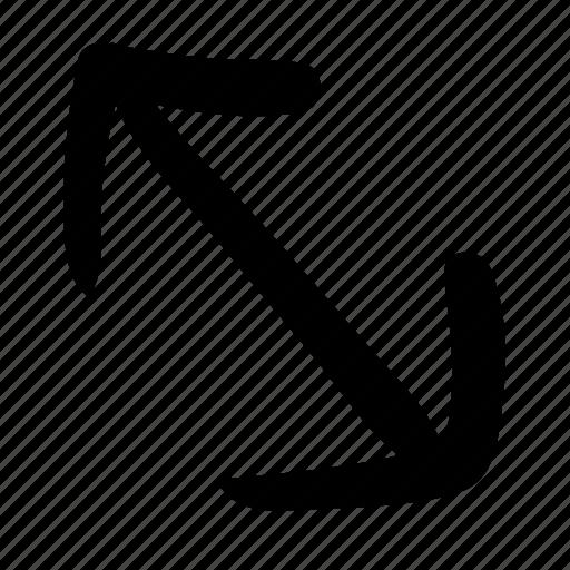 arrows, collision, conflict, direction, impact, navigation icon