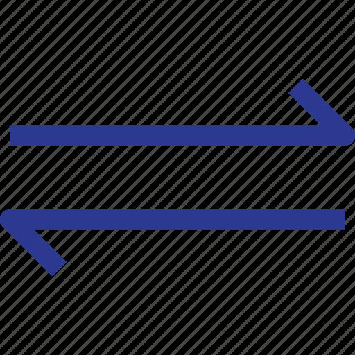 arrow, data, landscape, thinicons icon