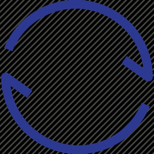 arrow, refresh, thinicons icon