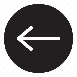 arrow, back, interaction, left, previous, ui, user interface icon
