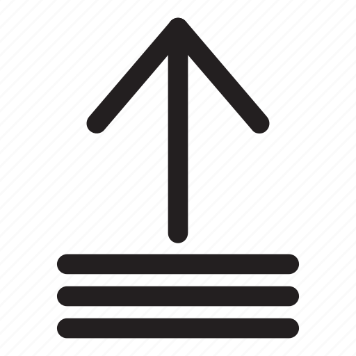 arrow, increment, interaction, list, ui, up, user interface icon