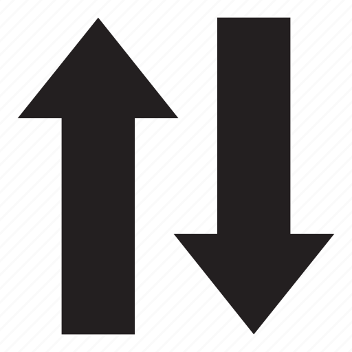 arrow, flow, interaction, ui, user interface icon