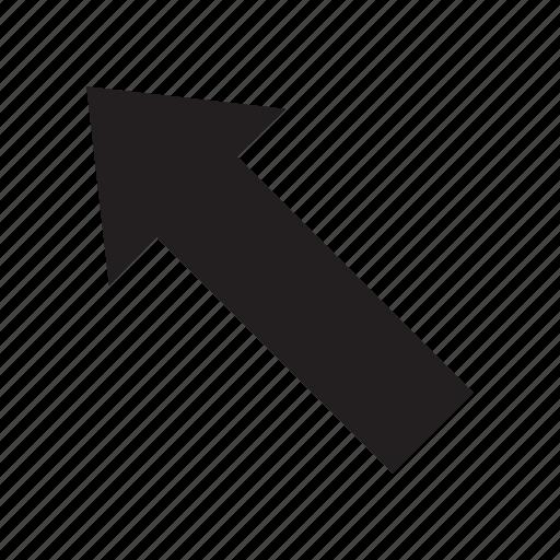 arrow, interaction, ui, user interface icon
