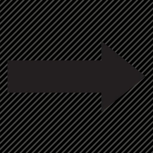 arrow, interaction, next, right, ui, user interface icon