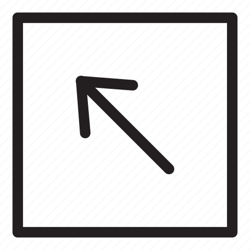 arrow, line, ui, user interface icon