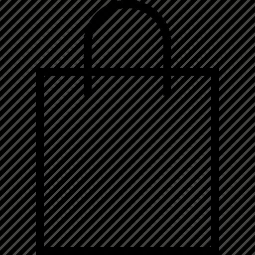 bag, ecommerce icon