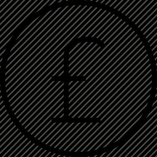 ecommerce, pound icon