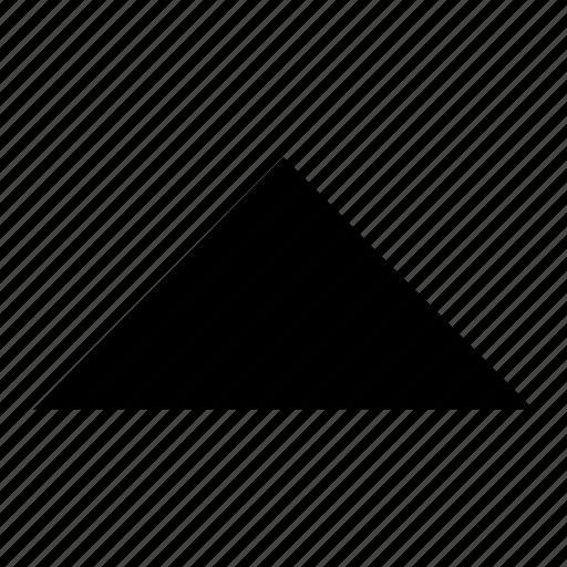 arrow, fill, ico, up icon