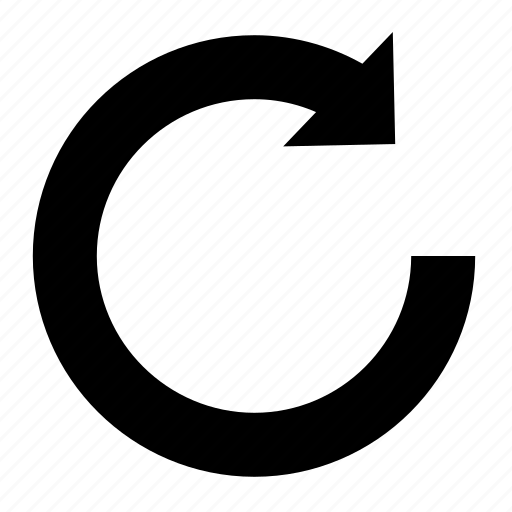bar, big, bold, circular, progress icon