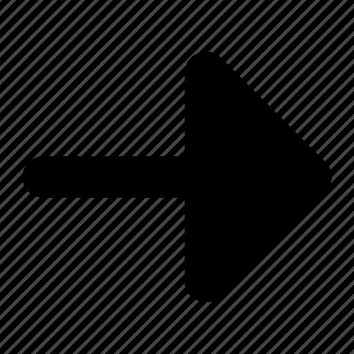 arrow, fill, ico, left, round icon