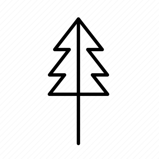 chrimess, corner, leafe, line, round, tree, without icon