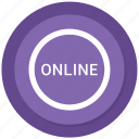 circle, internet, shop, shopping, web icon