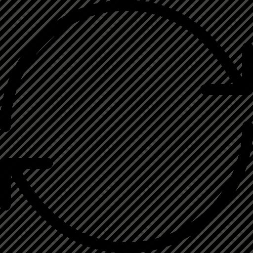 arrows, reload, renew, sync, syncronize icon