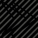 arrow, cursor, direction, pointer