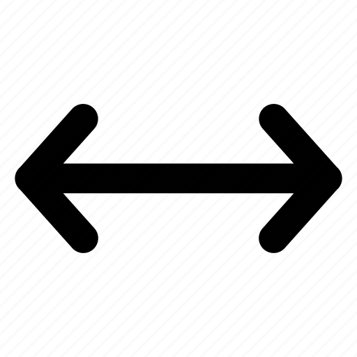 arrow, interface, scale, stretch, widen icon