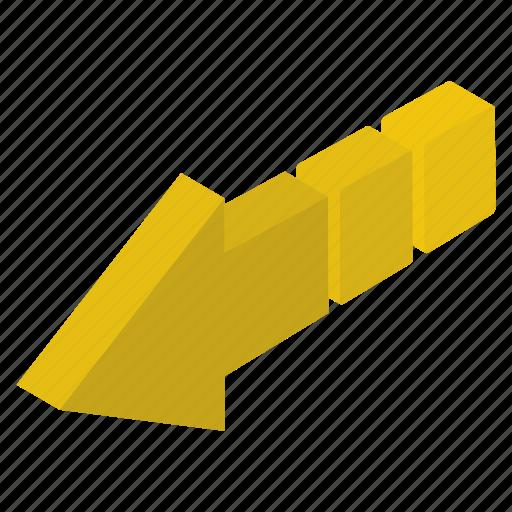 Arrow sign, arrow symbol, forward arrow, left arrow, pointing arrow icon - Download on Iconfinder