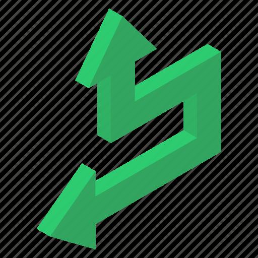 Arrow sign, arrow symbol, bend arrow, left arrow, pointing arrow, turn arrow icon - Download on Iconfinder