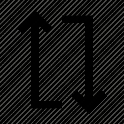 arrow, loop, repeat icon