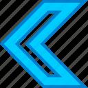 arrow, arrows, back, nav, navs, point, previous icon