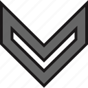arrow, arrows, down, download, nav, navs icon