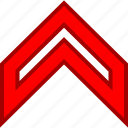 arrow, arrows, nav, navs, point, up, upload icon