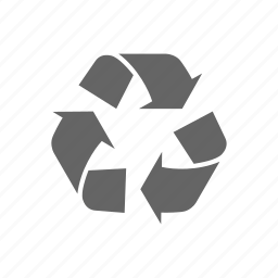 arrow, eco icon