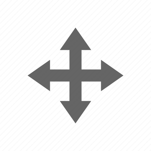 arrow, move icon