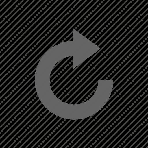 arrow, update icon