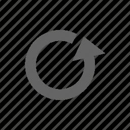 arrow, reload, update icon