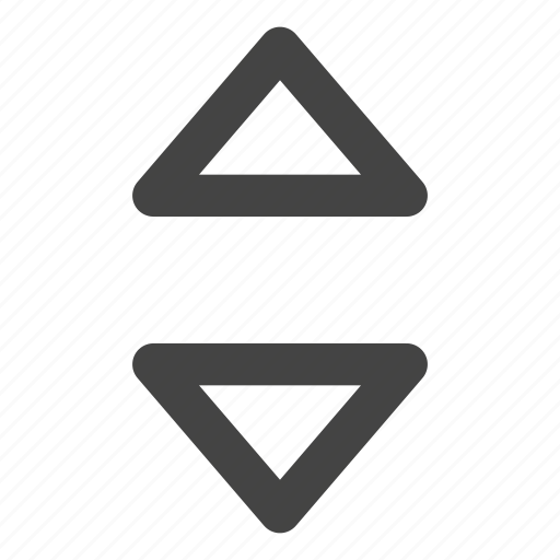 arrow, arrows, direction, elevator, music player, point icon