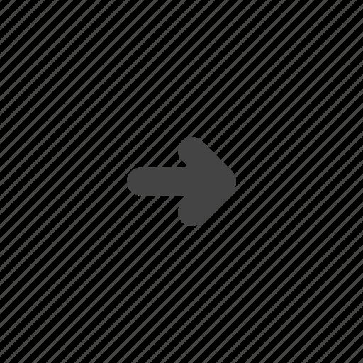 arrow, arrows, direction, forward, next, right icon