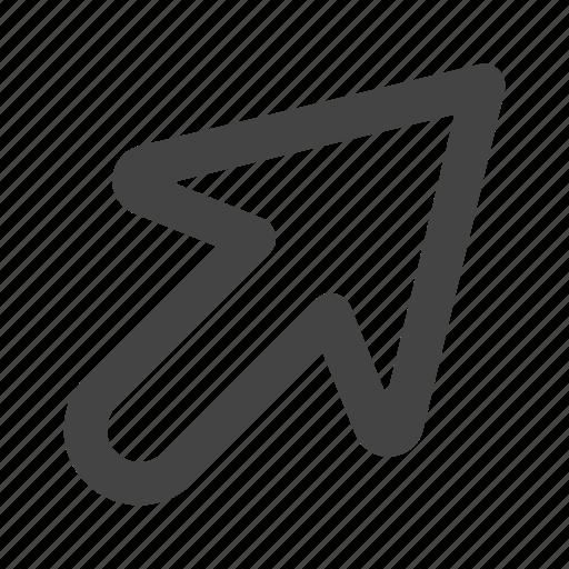arrow, arrows, click, cursor, pointer icon