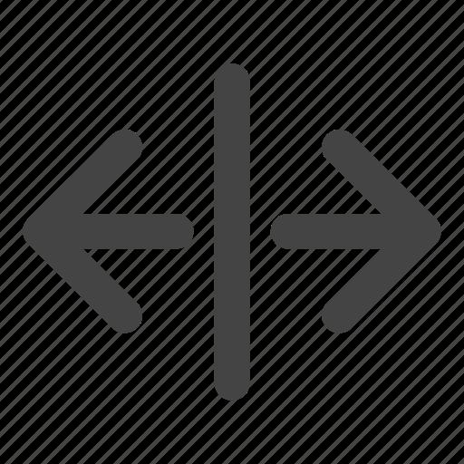 arrow, arrows, move, paragraph, spacing, text icon
