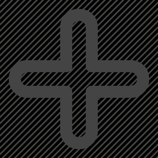 add, arrow, arrows, new, plus icon