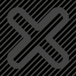 arrow, arrows, cancel, delete, remove icon