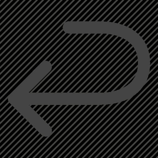 arrow, arrows, back, backward icon