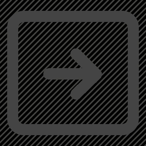 arrow, arrows, entry, login, next, right, signin icon
