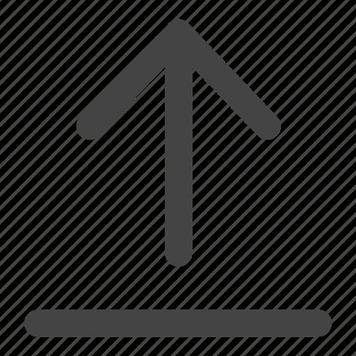 arrow, arrows, up, upload icon