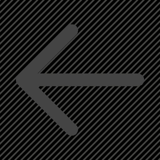 arrow, arrows, back, backward, direction icon