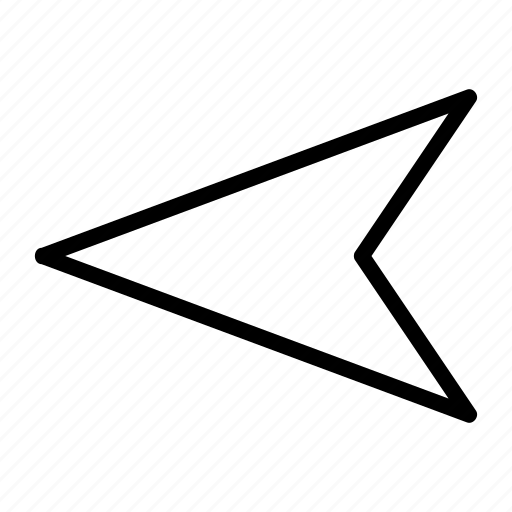 again, arrow, arrows, back, direction, left, sign icon