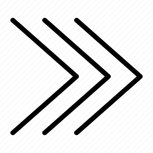 arrow, arrows, continue, direction, next, right, sign icon