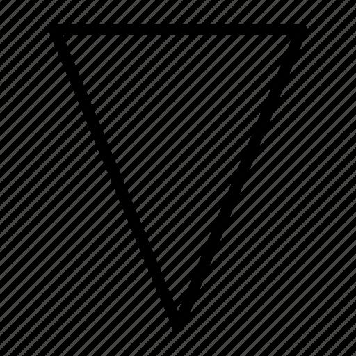 arrow, arrows, direction, down, drop, fall, sign icon