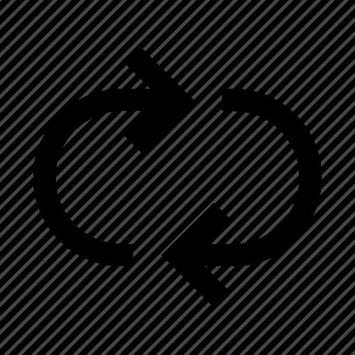 arrow, loop, reload, repeat icon