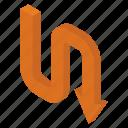 down arrow, download arrow, arrow direction, download symbol, downward arrow icon