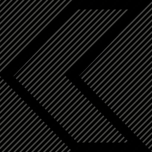 arrow, design, interface, left icon