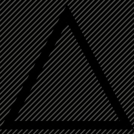 arrow, point, triangle, up icon