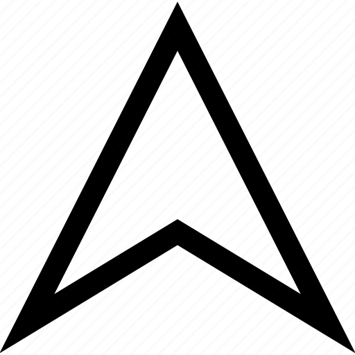 arrow, high, navigation, up icon
